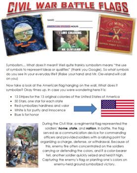Create your own Civil War Battle Flag