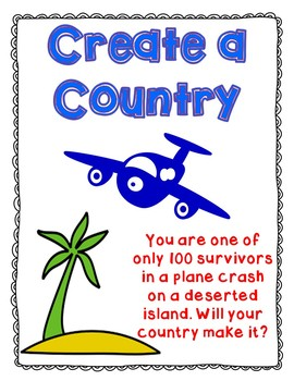Create your own Country and Government - civics