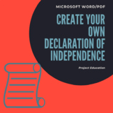 Create Your Own Declaration of Independence