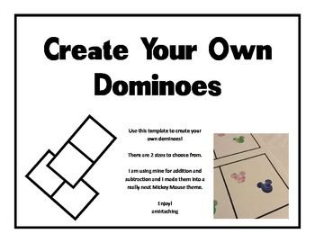 Create your own Dominoes