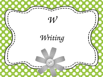 Create your own:  ELA CCS I Can Lime dot Zebra theme