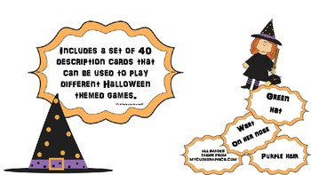 Create your own Halloween witch