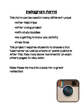 Create your own Instagram form!