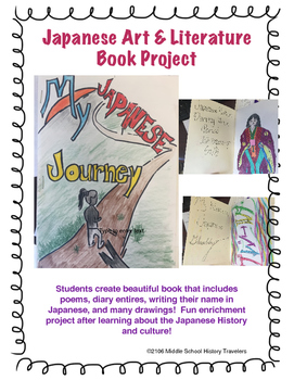 Create your own Japanese Literature and Art Book