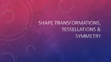 Create your own Logo - Shape transformations, symmetry & t