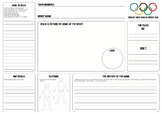 Create your own Olympics Sport