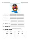 Create your own Potato Head!