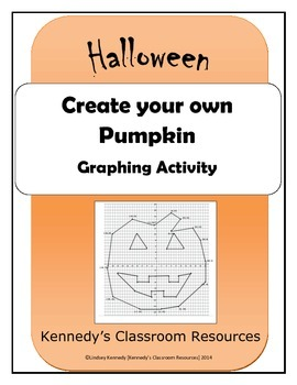 Create your own Pumpkin - Coordinate Graphing Activity