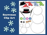 Create your own Snowman Clip Art