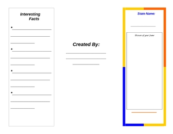 Create your own State Brochure