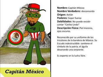Create your own Superhero in Spanish
