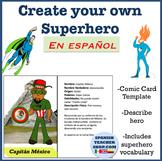 Create your own Superhero in Spanish