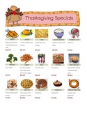 Create your own Thanksgiving Meal!
