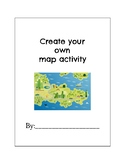 Create your own country map project