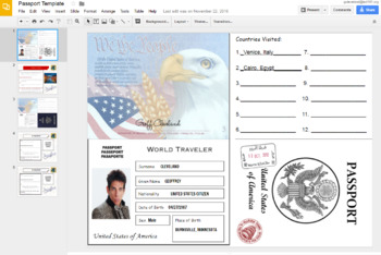 Create your own digital passport