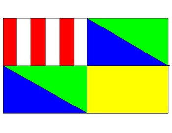 Create your own flag using fractions! (Assessment)