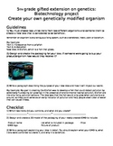 Create your own genetically modified organism