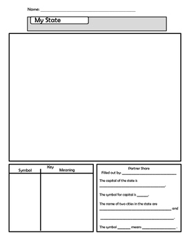 Create your own state worksheet