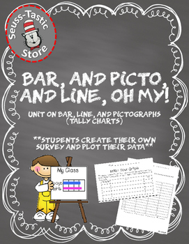 Create your own survey: Bar Graphs, Pictographs, Line Plots, Tally Charts