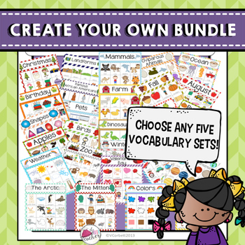 Create your own vocabulary bundle