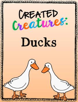 Created Creatures: Ducks