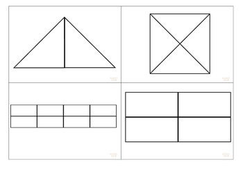 Creating 2 Dimensional Geometric Figures. Math Center
