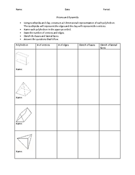 3d Shapes Worksheets | Teachers Pay Teachers