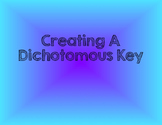 Creating A Dichotomous Key