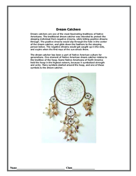 Creating A Dream Catcher