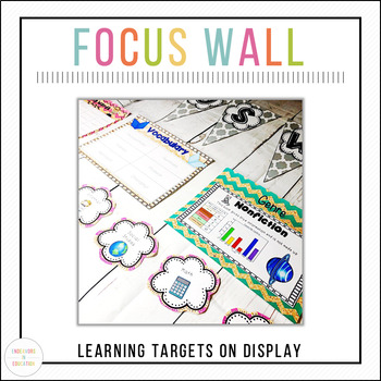 Learning Targets: Creating a Focus Wall