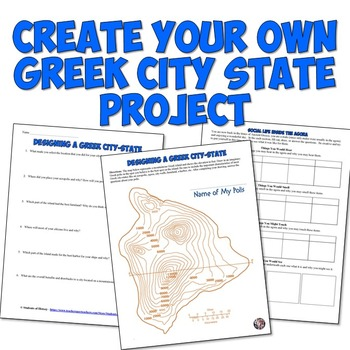 Creating A Greek City State Map Project
