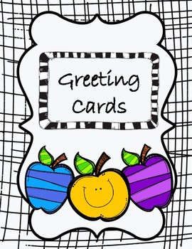 Creating A Greeting Card