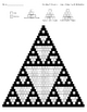 Creating A Sierpinski Triangle Using Sign Multiplication