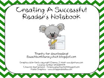 Creating A Successful Reader's Notebook