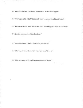 Creating America Chapter #17 Study Guide, Test, Answer Key