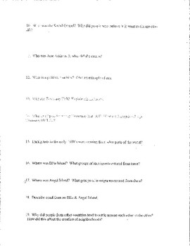Creating America Chapter #21 Study Guide, Test, Answer Key