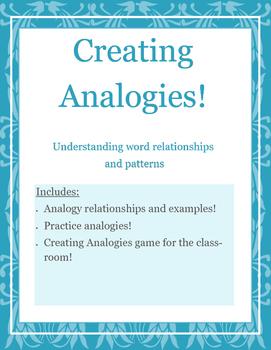 Creating Analogies!