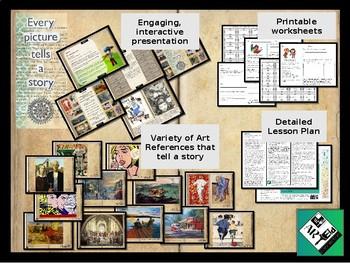 Creating Art that Tells a Story: Narratives in Visual Art