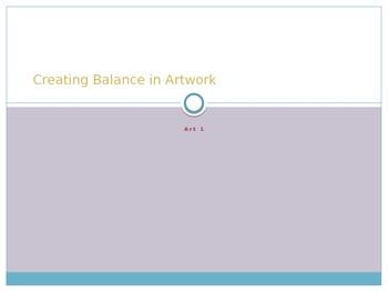 Creating Balance Collage