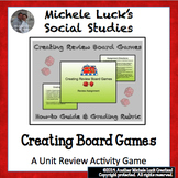 Creating Board Games Assignment for ANY CLASS!