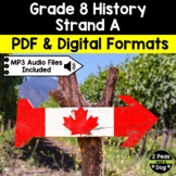 Grade 8 History Creating Canada 1850-1890 Strand A