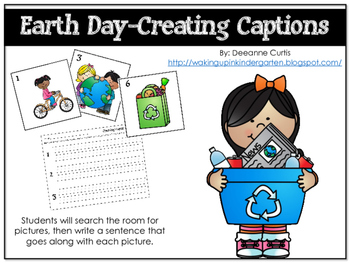 Creating Captions-Earth Day