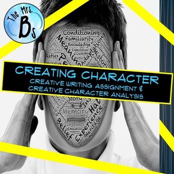 Creating Character (Characterization Creative Writing and Analysis)