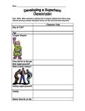 Creating Character Worksheet