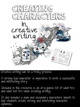 Creating Characters in Creative Writing