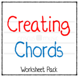 Creating Chords Worksheet Pack