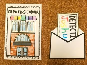 Creating Colour Unit