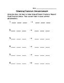 Creating Common Denominators