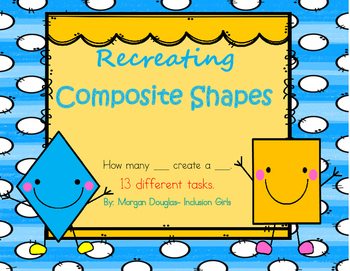 Creating Composite Shape Task Cards 1.G.2