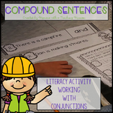 Conjunctions Creating Compound Sentences Literacy Center L.1.1